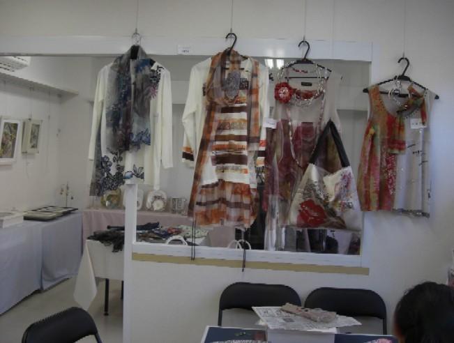 展示室と作業スペース