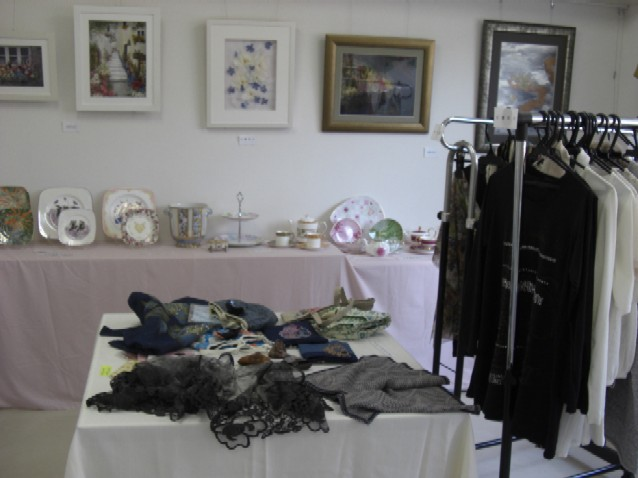 展示作品・ポーセラーツ、押し花、レカンフラワー、アートプリント