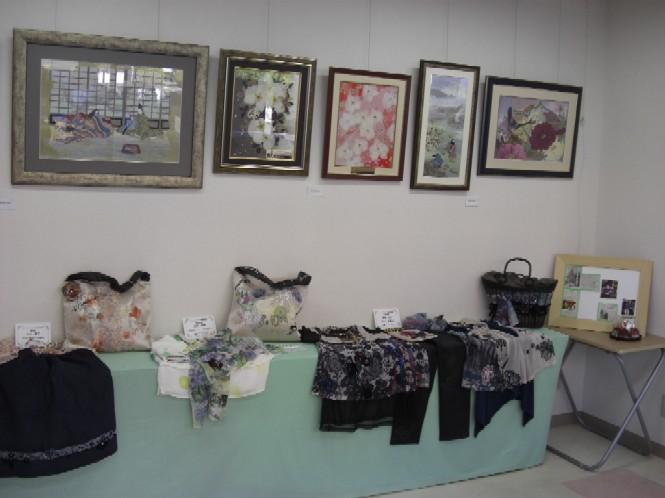 展示作品・押し花とアートプリント