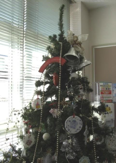 クリスマスツリー上部